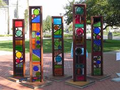 24 4133 glass totems sml | Cathedral Square | Danny Mingledorff | Flickr