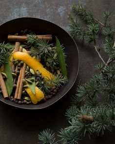 Roasted Spiced Orange Potpourri