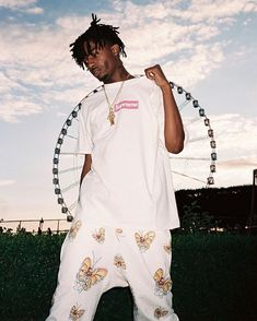 hypebeast with the shirt, the pants so fyeeee
