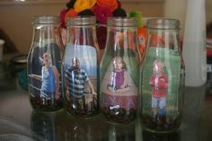 How to make recycled glass bottle photo frames · Recycled Crafts | CraftGossip.com