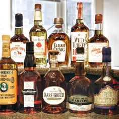 10 BOURBONS YOU CAN AFFORD TO DRINK EVERY. SINGLE. DAY.They're all under $40. Some are under $20.