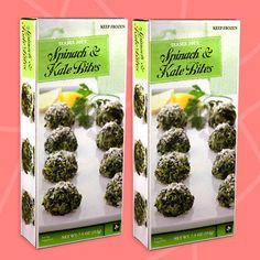 Healthy Must-Buys at Trader Joe's: Spinach & Kale Bites Vegetarian Shopping List, Trader Joes Vegetarian, Trader Joes Food, Trader Joe's, Shopping Lists, Grilled Chicken Fajitas, Creamy Cauliflower Soup, Appetizers For Party, Healthy Eating