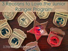 3 Reasons to love the Junior Ranger program (she: Allison) www.oneshetwoshe.com