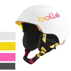 Bolle B-Lieve Soft White and Pink NewIncludes One Year WarrantyProduct # 31213 (Soft Blue Brush Product # 31214 (Soft Blue Brush Product # 31215 (Soft Black Brush Product # 31216 (Soft Black Brush Product # 30988 (Soft Wh Ski Helmets, Helmet Design, Bicycle Helmet, Skiing, Snowboarding, Montana, All In One, Joy, Pink