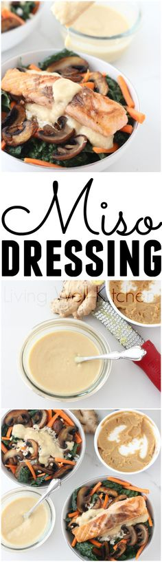 Miso dressing is a v