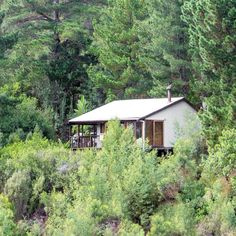 The fantastic Forest Valley Cottages are hidden away in the Knysna forest. Fairy Tale Forest, Knysna, The Perfect Getaway, Nature Reserve, Hiking Trails, Weekend Getaways, Vacation Spots, Luxury Homes, Gazebo