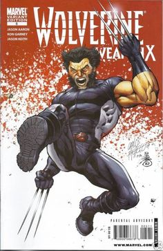 Wolverine Weapon X comic issue 5 variant