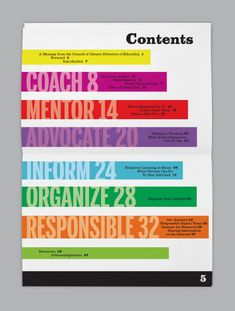 CODE - Council of Ontario Directors of Education by Stephanie-Ann Savage, via Behance
