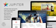 Jupiter is a Clean, Flexible, fully responsive and retina ready WordPress theme. Its smart and hand crafted environment allows you to Build an outstanding web presence.