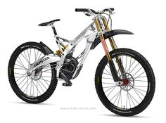 The Honda downhill mountain bike had its entire gearbox and freewheel contained inside the bottom bracket, and was able to shift without pedaling. Velo Design, Bicycle Design, Electric Mountain Bike, Electric Bicycle, Electric Scooter, Electric Cars, Bike Downhill, Le Tricycle, Cross Country Bike