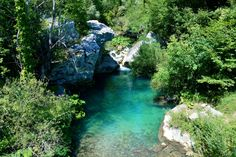 The Blue Lagoon, river Verrino