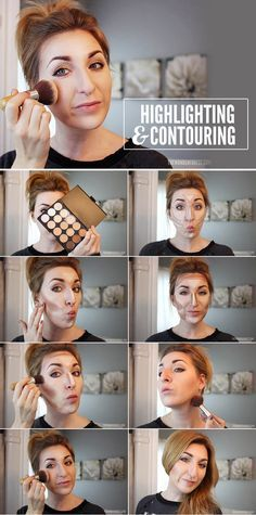 Makeup Tips That Make Wrinkles Vanish - How To Highlight and Contour: Makeup Tutorial- Make Up and Anti Aging Skin Care Home Remedies and Essential Oils - How To Get Faces To Look Years Younger - Skincare Products For Women to Combat Crows Around the Eyes - https://thegoddess.com/Makeup-tips-to-make-wrinkles-vanish