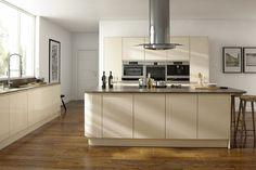 Opus High Gloss Cream #kitchen door decor from HPP