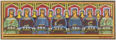 A painter, a storyteller and a trailblazer -Jamini Roy & his beautiful creations Large Art Prints, Framed Art Prints, Canvas Prints, Last Supper Art, Jamini Roy, Religious Paintings, Indian Artist, Buy Posters, Christian Art