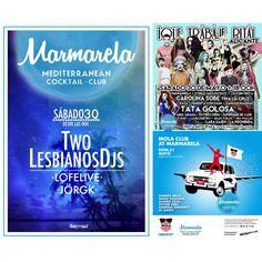 Ya tenemos completo nuestro último weekend del mes! Two Lesbianos + Que Trabaje Rita + MOLA CLUB  #Alicante #Summer