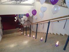 Wedding decoration with balloons in the hotel ellington made by Princess Dreams. #wedding #decoration #princessdreams #berlin