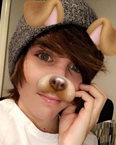 Ugh I hate people who use the puppy filter!!!! I would never do that!!!!