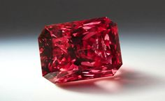 The Argyle Everglow, a Fancy Red diamond, is the largest red diamond in the history of the Argyle Pink Diamonds Tender. Rare Gemstones, Minerals And Gemstones, Types Of Diamonds, Colored Diamonds, Argyle Pink Diamonds, Argyle Diamond, Gems Jewelry, Jewellery, Dainty Jewelry