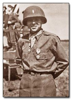 """Audie Murphy. Look him up if you haven't heard of him already. This man is the essence of a """"True American Hero"""" and his story is inspiring."""