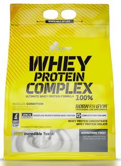 Olimp Whey Protein Complex 2270g cookies cream. OLIMP Whey Protein Complex 100%® – specjalnie opracowany matrix białkowy- ultrafiltrowanego koncentratu białek serwatkowych WPC instant oraz zaawansowanego technologicznie izolatu białek serwatkowych WPI-CFM® w formie instant. #odzywkabialkowa #suplementdiety #silownia