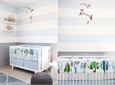 Dwell owls gray nursery