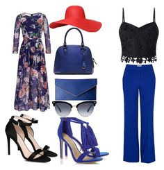 """In blue"" by dewi-vandenberg on Polyvore featuring STELLA McCARTNEY, Rebecca Minkoff, Gucci, Lipsy and Essentiel"
