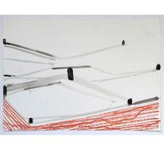 Ronald Noorman o.T. 2011 Gouache/Ölkreide/Bleistift 30 x 42cm