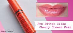 Nyx Butter Gloss Review - This stuff is fab! #Nyx #makeup