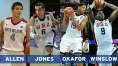 Allen, Jones, Jahlil Okafor and Winslow