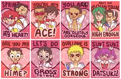 YOWAPEDA VALENTINES - WHY AM I JUST FINDING THESE Shower your hime with these this Valentine's Day. Printed on 3 x 4 gloss. --- Interested in buying multiple valentines? 3 for $5: http://neverendingdickjokes.storenvy.com/products/1043769-choose-3-valentines 10 for $15: http://neverendingdickjokes.storenvy.com/products/1043772-choose-10-va