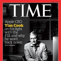 Tech: Heres the Full Transcript of TIMEs Interview With Apple CEO Tim Cook The chief executive of the world's most powerful tech company on your privacy America's security and his fight with the FBI TIME.com