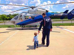 Father and son.... #flightmedic #HEMS #airmethods