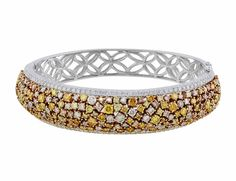 Natural Fancy Multicolor Diamond Bracelet