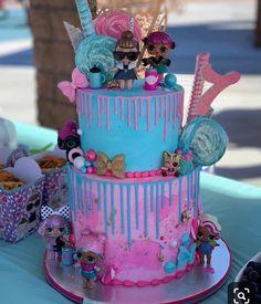 Doll Birthday Cake, Funny Birthday Cakes, Kylie Birthday, Happy Birthday Girls, 7th Birthday, Surprise Birthday, Cupcake Cakes, Owl Cakes, Fruit Cakes
