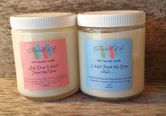 Candle Gift Set, His and Hers Candles, Soy Candle, Eco Friendly Candle, 8 Ounce Candle, Natural Container Candles, Home Decor, Gift Ideas by ScentedLife on Etsy