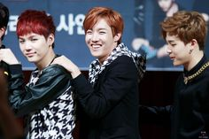 Bangtan Boys - Yoongi (suga), Hoseok (j-hope), & Jimin | 140929 | tumblr | © 218 | Do not edit