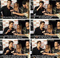 Paul on Candice