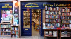 Irish independent bookshops you must visit before you die. Charlie Byrne Bookseller, Galway