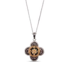 CTA-CORDP Cordelia Sterling Silver & Gold Vermeil Contessa Pendant by Cotton & Co.jpg