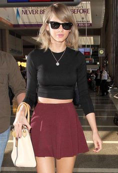 FOREVER FLAWLESS T SWIFT ROCKING @RachelPally ​'s WEBBER TOP OUT AND ABOUT IN LA!! #TAYLORSWIFT #CELEBRITYSTYLE