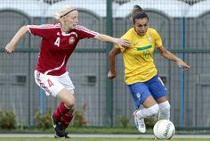 Futebol feminino: Brasil volta a enfrentar Dinamarca em final do Torneio
