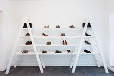 Botti store  São Paulo   Footwear wall displays   Brasil shoes