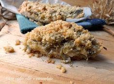 la sbriciolata salata con stracchino e carciofi è semplicissima da fare è molto croccante e con un ripieno veramente invitante