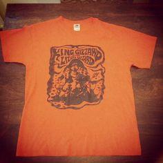 King Gizzard & The Lizard Wizard limited edition tour shirt @kinggizzard 👌🐍🐊🐉 #kinggizzardandtheliza - kimboloid