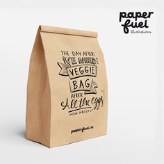 We need the veggie bag after all the eggs! How about u? #lettering #handlettering #paperfuel