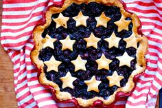 Be Different...Act Normal: 5 Patriotic Pies [Flag Pies]