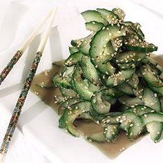 Spago Cucumber Salad - Cucumber Salad Recipe