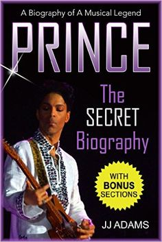 Prince biography and life story including childhood story, career, walk of fame and more at amazon.  #PrinceBookBiography     #Prince
