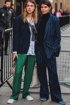 london fashion week 2018 street style   Curated by Lulu W @luluwang