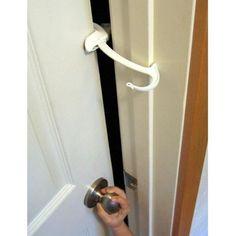 childproofing doors | Door Monkey Childproof Door Lock and Pinch Guard: Health Safety ...